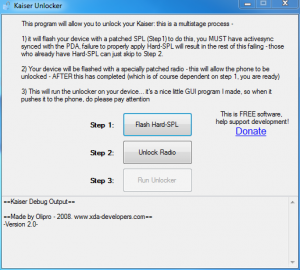 8925 HTC Kaiser Free Unlock